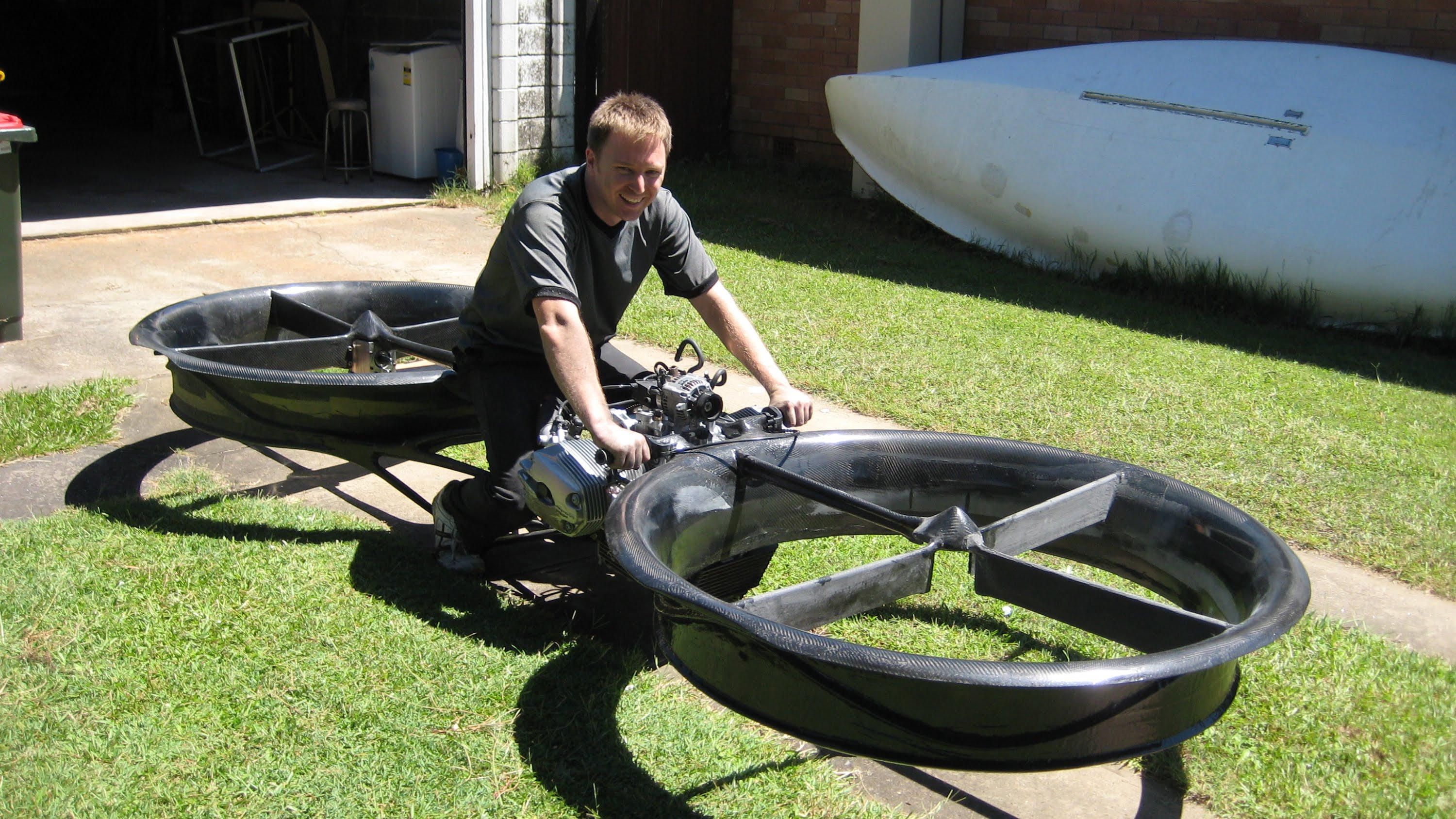 great invention hoverbike