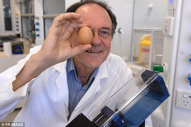 scientist find a way to unboil an egg