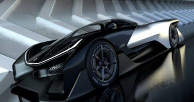 New 1,000-Horsepower Electric Concept Hyper-car
